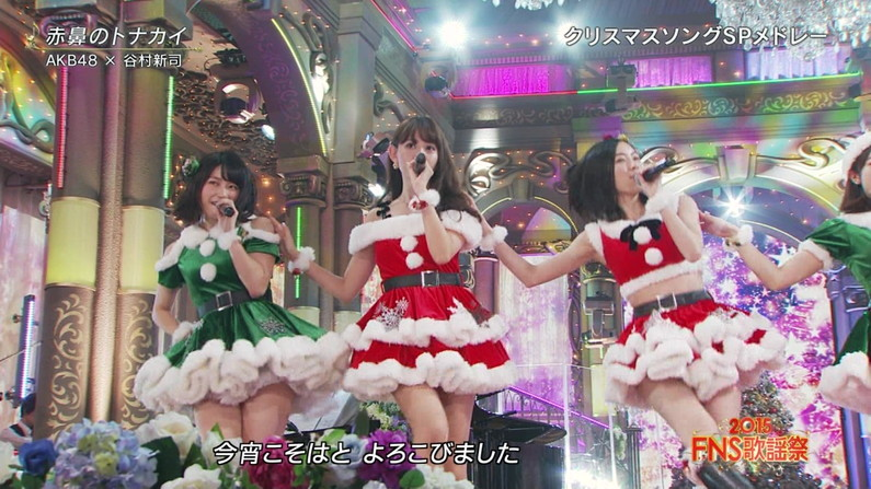 【放送事故画像】メリークリスマス!って事でサンタコスした女達のプレゼントだーwww 10