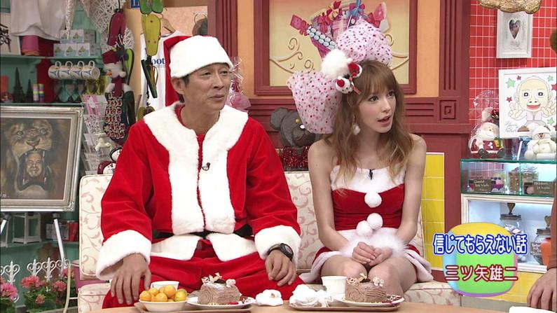 【放送事故画像】メリークリスマス!って事でサンタコスした女達のプレゼントだーwww 16