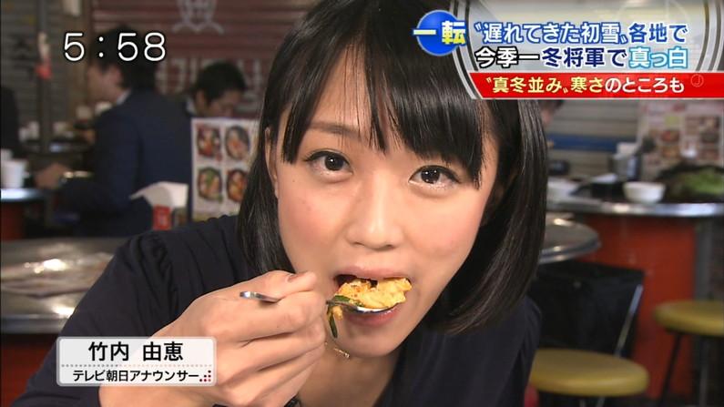 【放送事故画像】この女達は完全に狙ってこんな食べ方してるんだろうなww 19