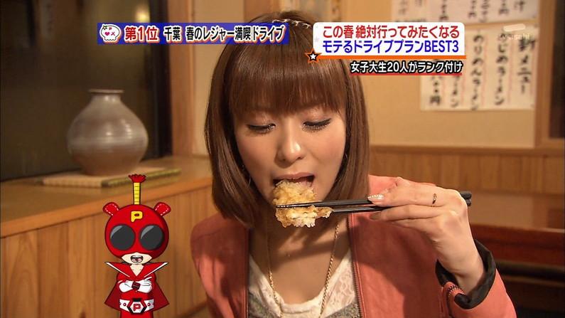 【擬似フェラ画像】テレビでただ食べてるだけでエロく見えてしまうのは俺の問題? 23