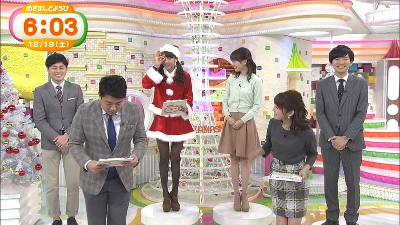【放送事故画像】プレゼントは、わ、た、し♡女子アナやアイドル達のサンタコス画像www 02
