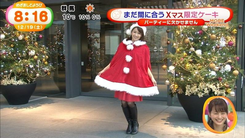 【放送事故画像】プレゼントは、わ、た、し♡女子アナやアイドル達のサンタコス画像www 11