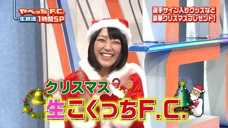 【放送事故画像】プレゼントは、わ、た、し♡女子アナやアイドル達のサンタコス画像www 12