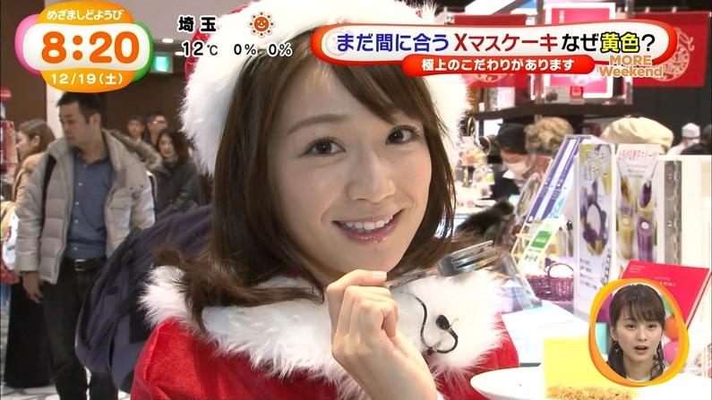 【放送事故画像】プレゼントは、わ、た、し♡女子アナやアイドル達のサンタコス画像www 13