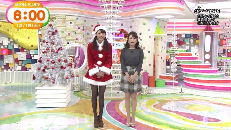 【放送事故画像】プレゼントは、わ、た、し♡女子アナやアイドル達のサンタコス画像www 19
