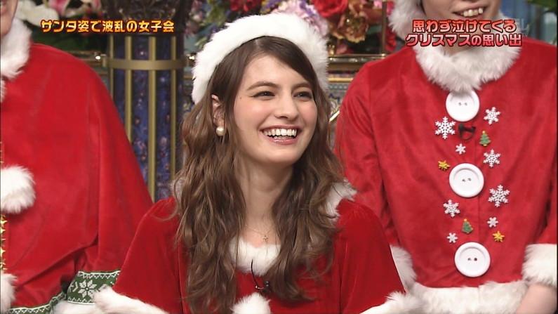 【放送事故画像】プレゼントは、わ、た、し♡女子アナやアイドル達のサンタコス画像www 23