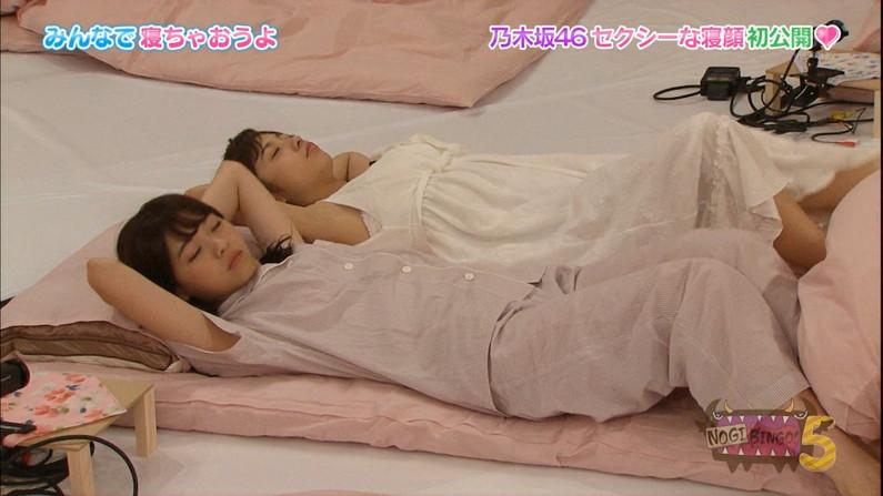 【放送事故画像】女の子のパジャマ姿や寝顔が可愛くて、思わず夜這いかけたくなるwww 10