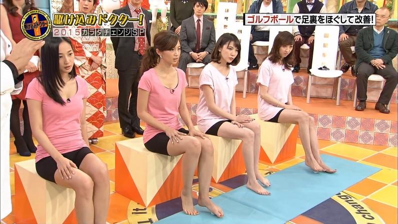 【放送事故画像】テレビで映ったムチムチのエロい太ももに興奮するぞwww 07