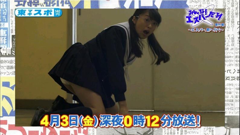 【放送事故画像】一瞬のパンチラもい逃さないカメラマン流石ですwww 12