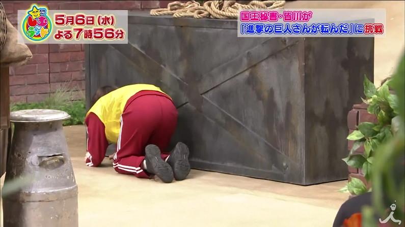 【放送事故画像】ピッチリしたズボン履いてお尻の形が丸分かりww 17