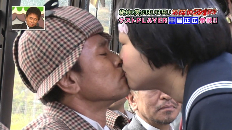 【放送事故画像】思わずテレビにキスしちゃいそうな女子アナやアイドルのキス顔ww 14