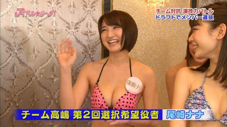 【放送事故画像】やっぱりオッパイ大きい女のビキニ姿破壊力あるよなwww 10