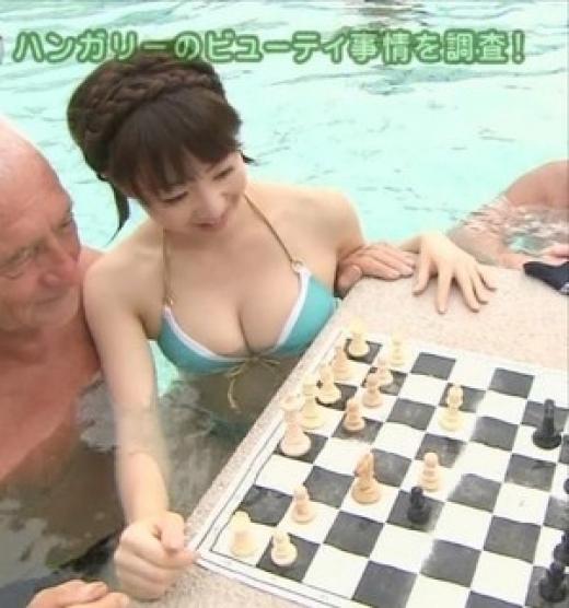【放送事故画像】やっぱりオッパイ大きい女のビキニ姿破壊力あるよなwww 12