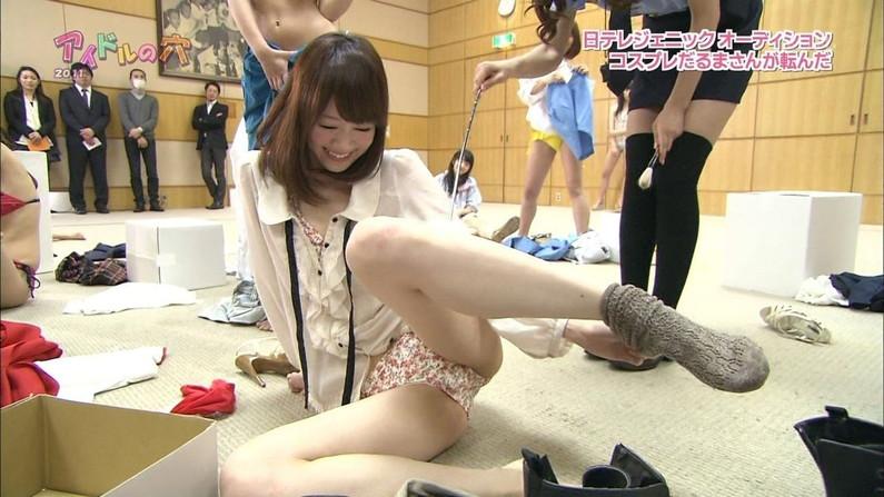 【放送事故画像】お股広げすぎて股関節の隙間が卑猥すぎるwww 19