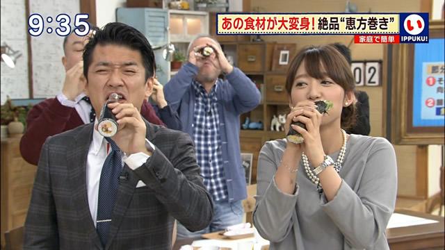 【放送事故画像】エロい食べ方してフェラの練習!そんなフェラ顔を放送中www 16