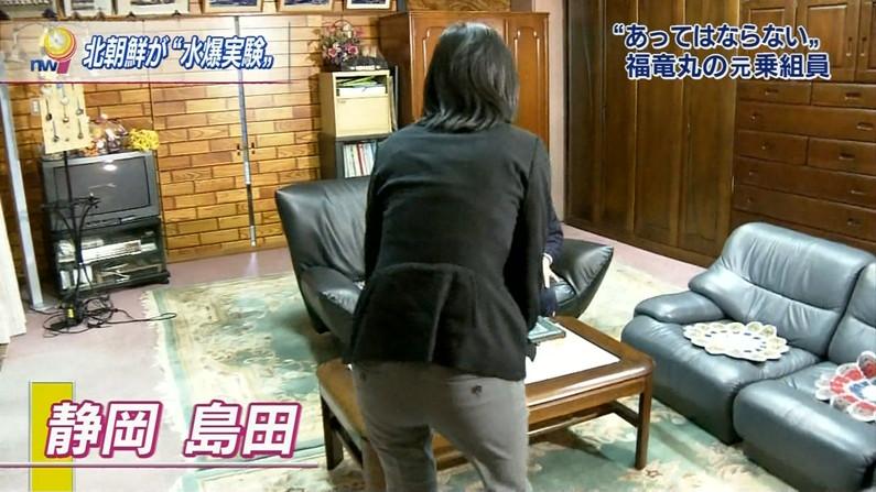 【放送事故画像】テレビにドアップでお尻映してるもんだから思わず見とれてしまったwww 04