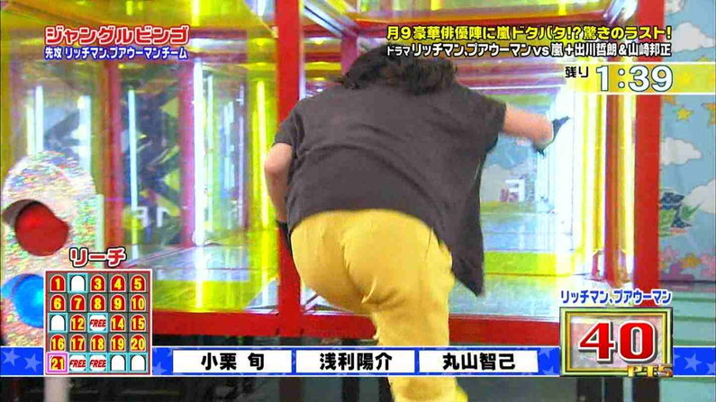 【放送事故画像】テレビにドアップでお尻映してるもんだから思わず見とれてしまったwww 10