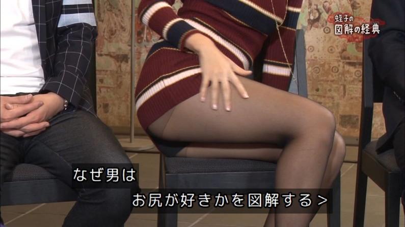 【放送事故画像】テレビにドアップでお尻映してるもんだから思わず見とれてしまったwww 23