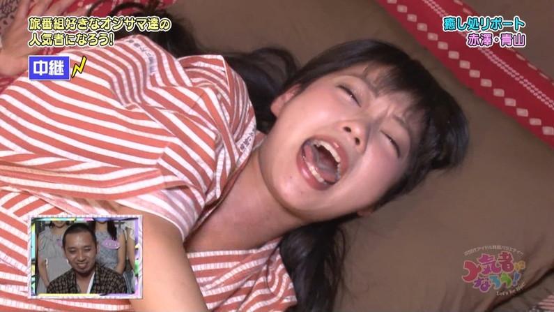 【放送事故画像】女性芸能人のセックスでフィニッシュ決められたときの顔がこちらwww 07