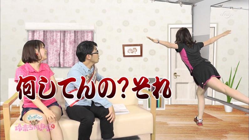 【放送事故画像】ムッチムチのエロい太もも露出してテレビに出てる女達がエロすぎww 13