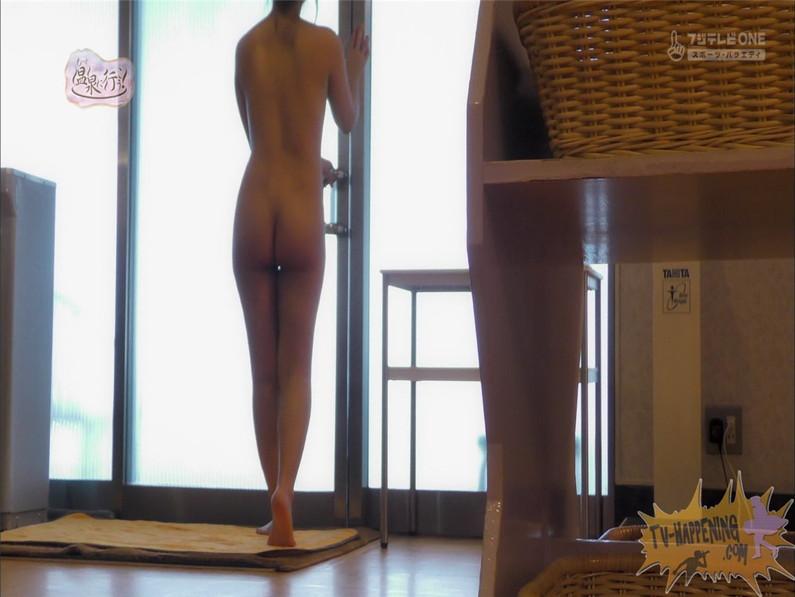 【お宝エロ画像】お尻フェチにはたまらない番組「温泉に行こう!」で今日も美女のお尻がドアップで映るww 19