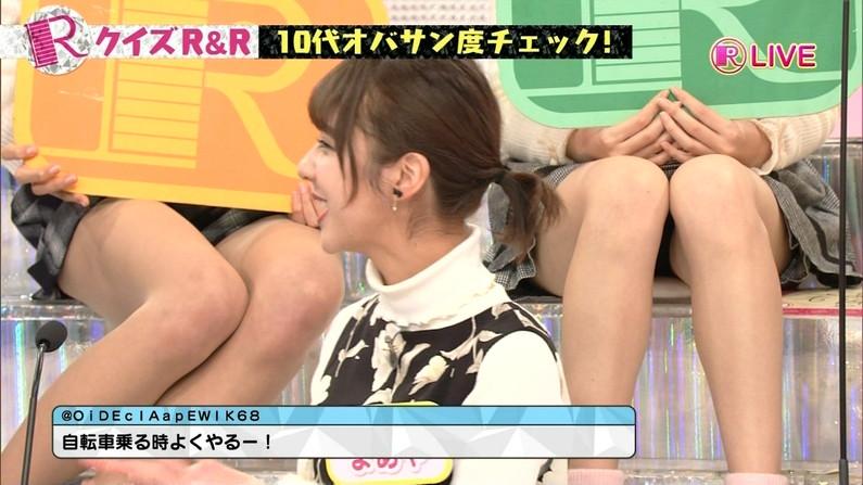 【放送事故画像】最近の女性はパンツ見えてもさほど気にならないらしいぞww 03