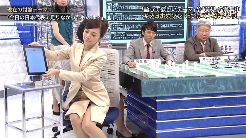 【放送事故画像】最近の女性はパンツ見えてもさほど気にならないらしいぞww 19
