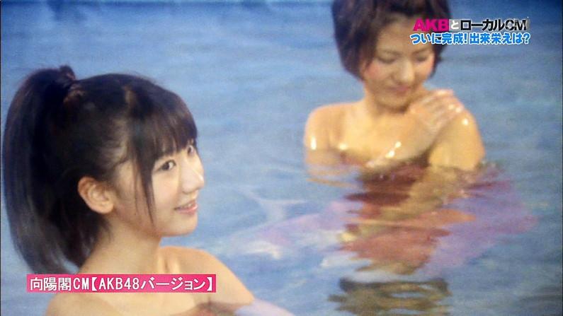 【放送事故画像】バスタオルの巻き方が余計エロく見えちゃう女子アナやアイドルの入浴シーンww 11
