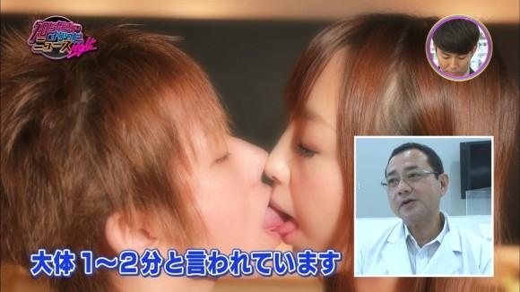 【放送事故画像】キス顔とかキスシーン見てたらキュンキュンしない?ww 13