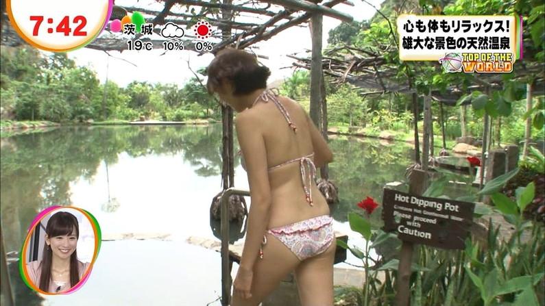 【放送事故画像】テレビに映ったムチムチの尻肉たまんね~www 16