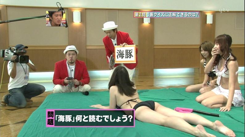 【放送事故画像】テレビに映ったムチムチの尻肉たまんね~www 20