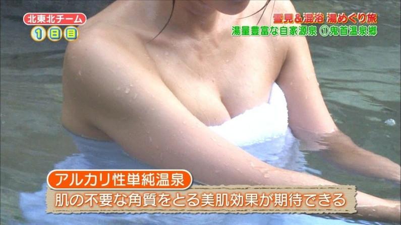 【放送事故画像】こんな女の子と俺も温泉入って温まりながらイチャイチャしたいww 06