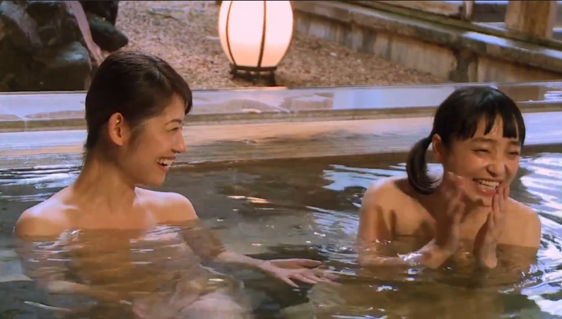 【放送事故画像】こんな女の子と俺も温泉入って温まりながらイチャイチャしたいww 20