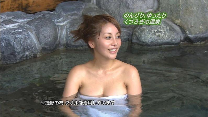 【放送事故画像】こんな女の子と俺も温泉入って温まりながらイチャイチャしたいww 23