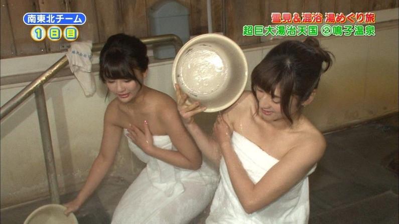 【放送事故画像】テレビで一番露出する瞬間ってやっぱり入浴シーンだよなww 22