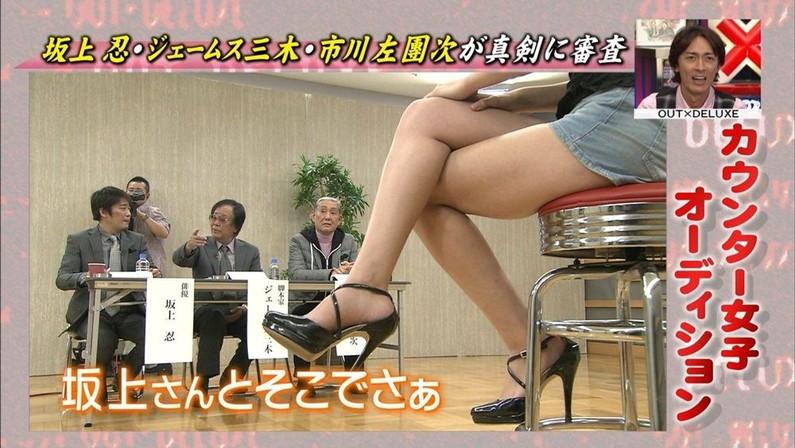 【放送事故画像】こんなムチムチのエロい太ももチ○コ挟んで欲しいww 12