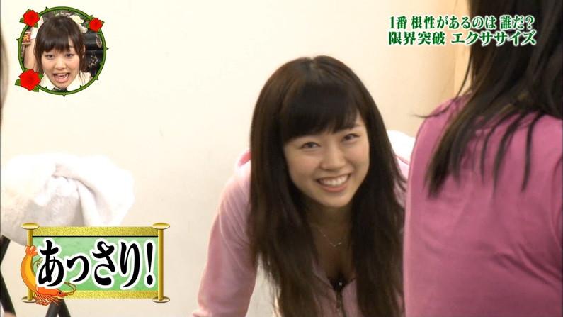 【放送事故画像】服着ててもオッパイ見せちゃう女子アナやアイドルww 12