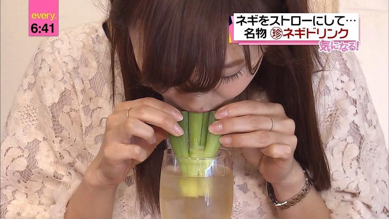 【擬似ふぇら画像】食レポと言う名目で茶の間にエロい顔をお届けする女達ww 02