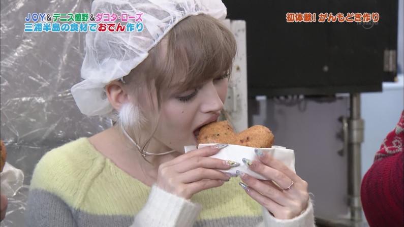 【擬似ふぇら画像】食レポと言う名目で茶の間にエロい顔をお届けする女達ww 06