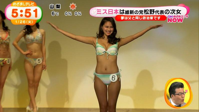 【放送事故画像】スタイル抜群の芸能人がそのくびれボディーをお披露目!おへそも可愛い~ww 21