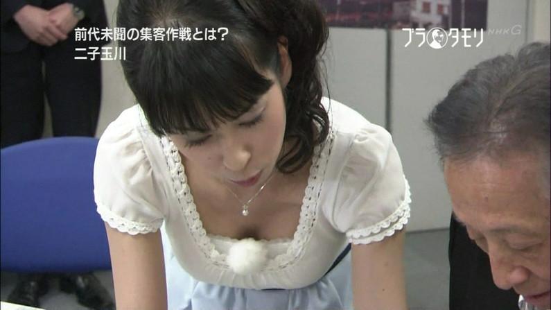 【放送事故画像】女子アナのオッパイアピールが半端なくエロいんだがwww 14