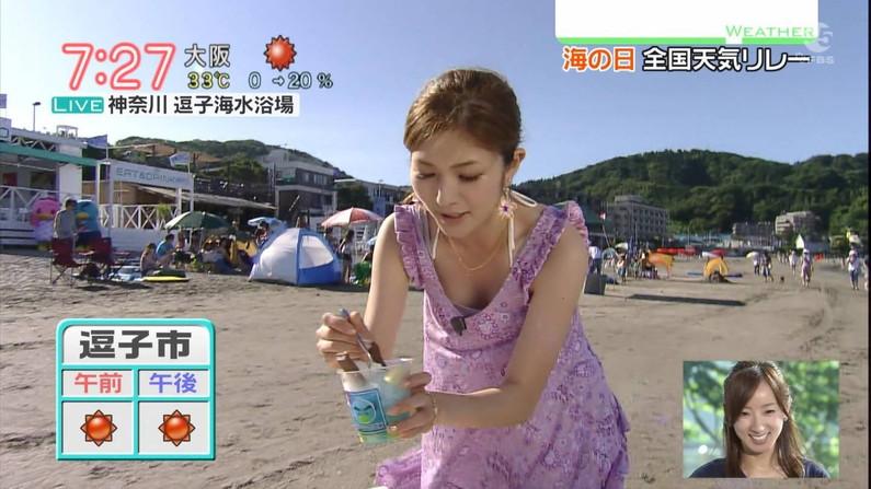【放送事故画像】女子アナのオッパイアピールが半端なくエロいんだがwww 15