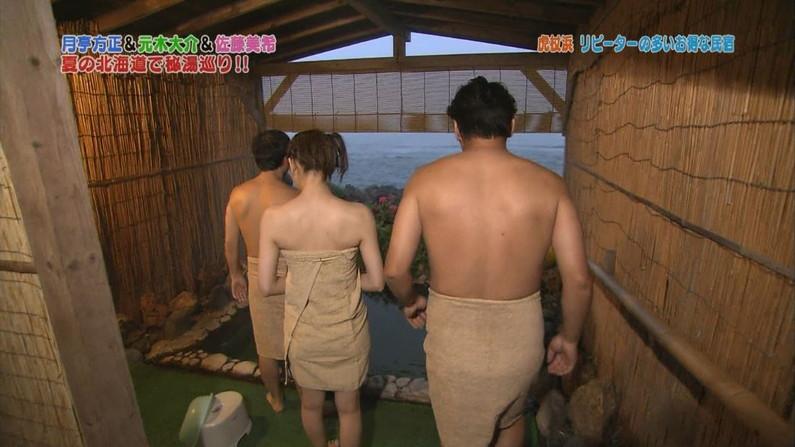 【放送事故画像】バスタオルでオッパイ強調!湯船に浮かぶオッパイがエロすぎwww 20