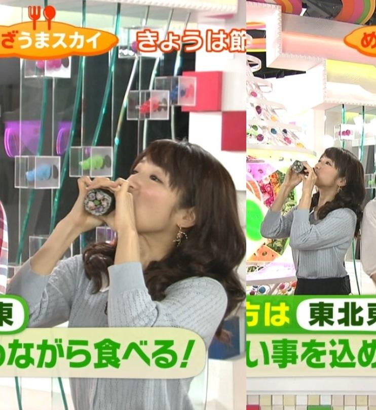 【擬似フェラ画像】テレビで女達が太くて長い物を咥えてるぞwww 06
