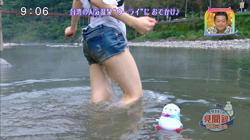 【放送事故画像】足が綺麗な女の人ってエロかっこよくない?www