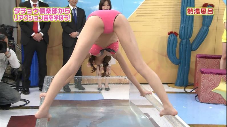 【放送事故画像】テレビで大開脚!その結果股間を激写される女達www 23
