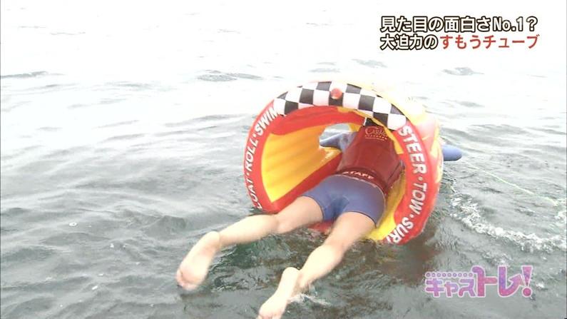 【放送事故画像】こんなお尻見てたら思わずズボンやら水着をズリ下げたくならん?ww 14