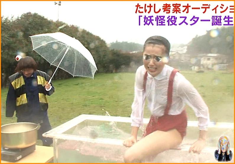 【放送事故画像】ちょっとだけよ~!ムチムチ太もも露出さして男を虜にする女性タレント達ww 02