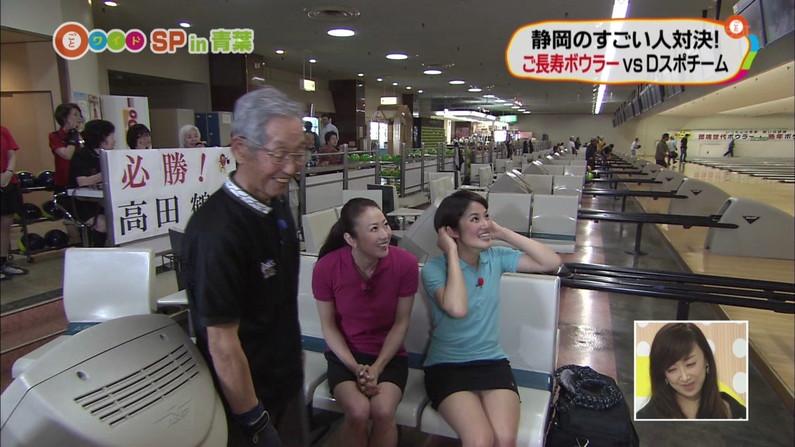 【放送事故画像】ちょっとだけよ~!ムチムチ太もも露出さして男を虜にする女性タレント達ww 03