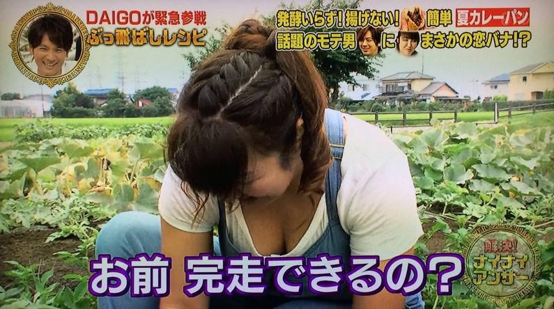 【放送事故画像】挟まれたい、揉まれたい、吸い付きたい!女性タレントの谷間ww 17